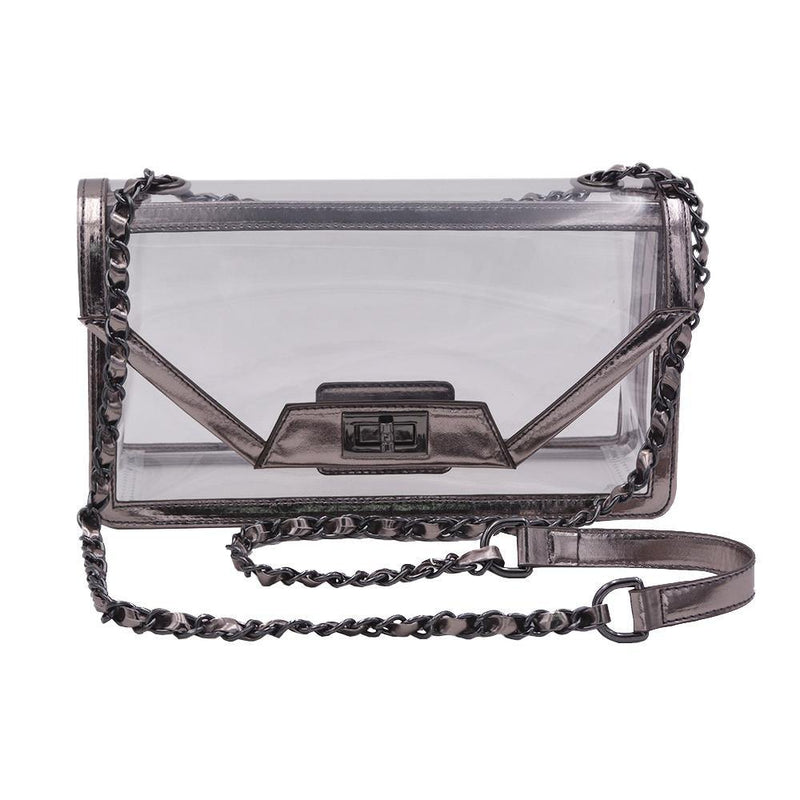 The Mama Cher | Platinum Gunmetal | POLICY Handbags | POLICY Handbags