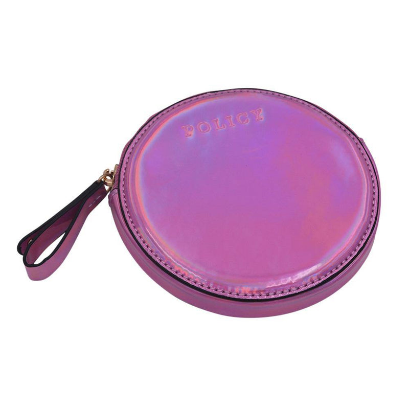 The Roundie Roo- Galaxy Pink - POLICY Handbags Policy Bag