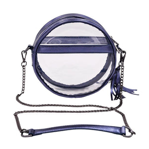 The Bare Roundie- Sapphire | POLICY Handbags | POLICY Handbags