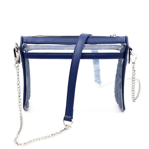 Be Clear Policy- Navy - POLICY Handbags Policy Bag