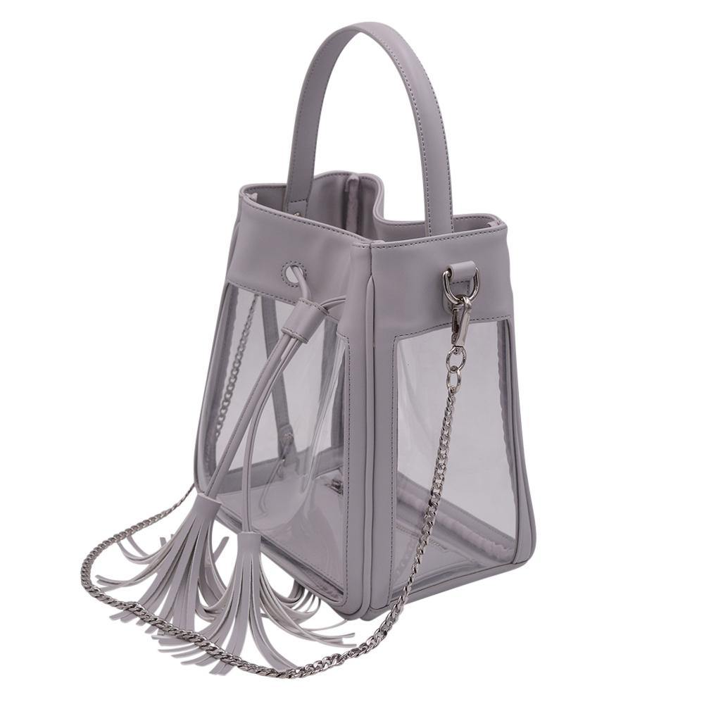 The Bare Bucket- Elephant Gray - POLICY Handbags Policy Bag