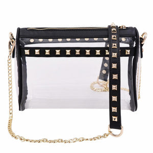 The Rockstar | Black+Gold | POLICY Handbags