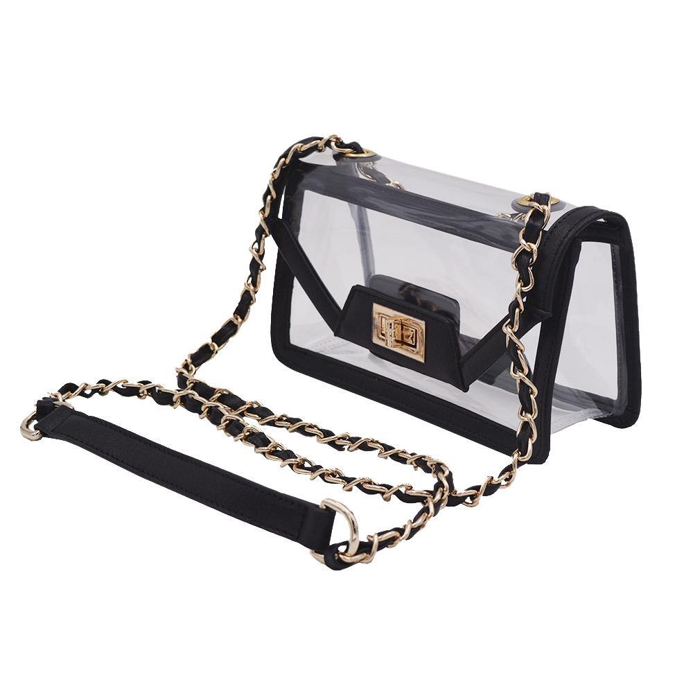 PRE-ORDER | The Mini Cher - Onyx & Gold | POLICY Handbags | POLICY Handbags