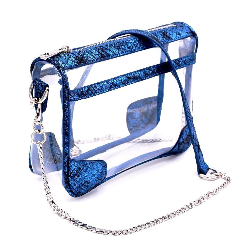The Drake - Cobalt Cobra | POLICY Handbags | POLICY Handbags