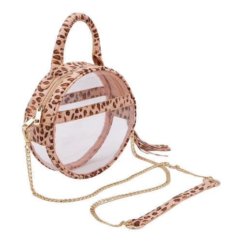 The Roundie Halo- Wildcat - POLICY Handbags Policy Bag