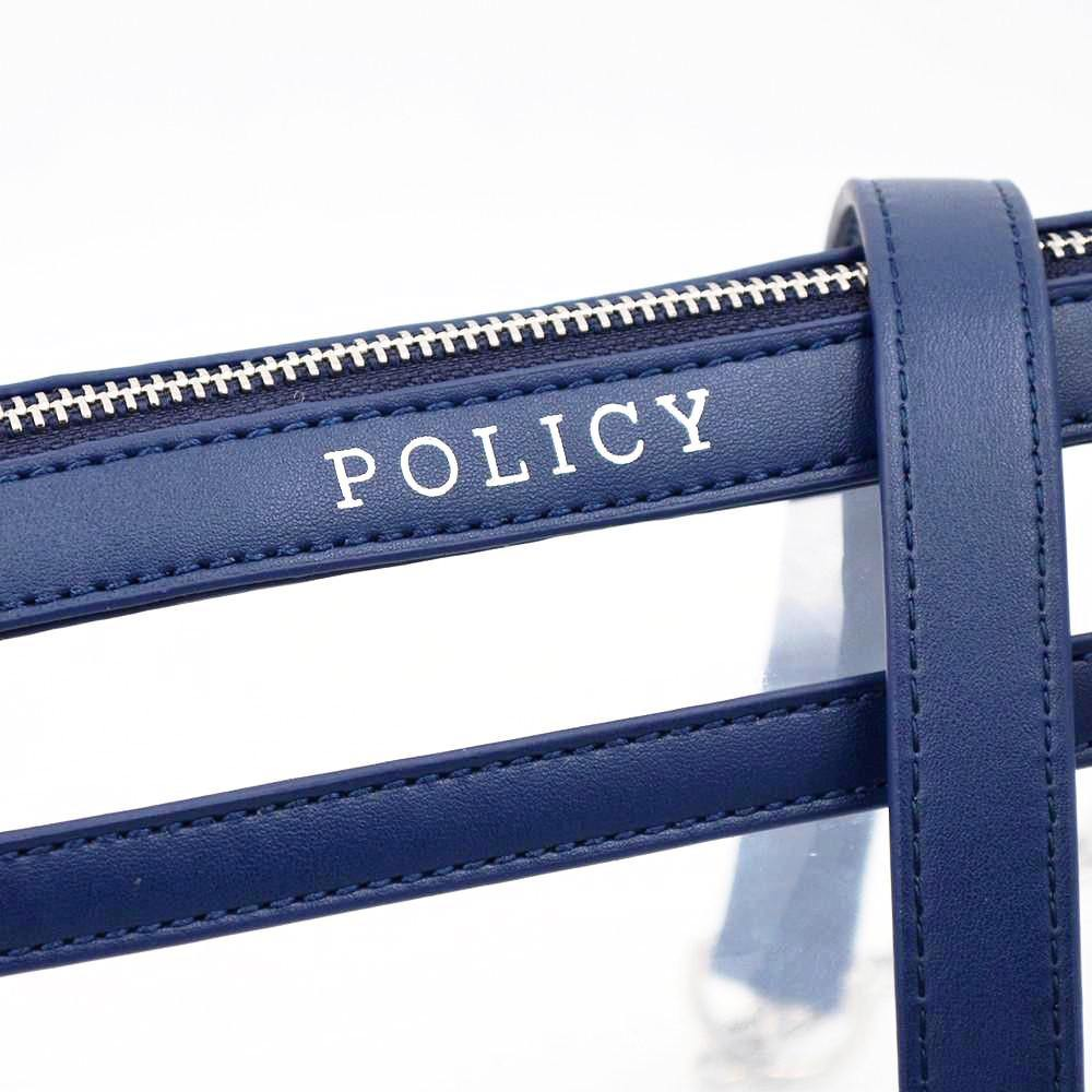 Be Clear Policy- Navy | POLICY Handbags | POLICY Handbags