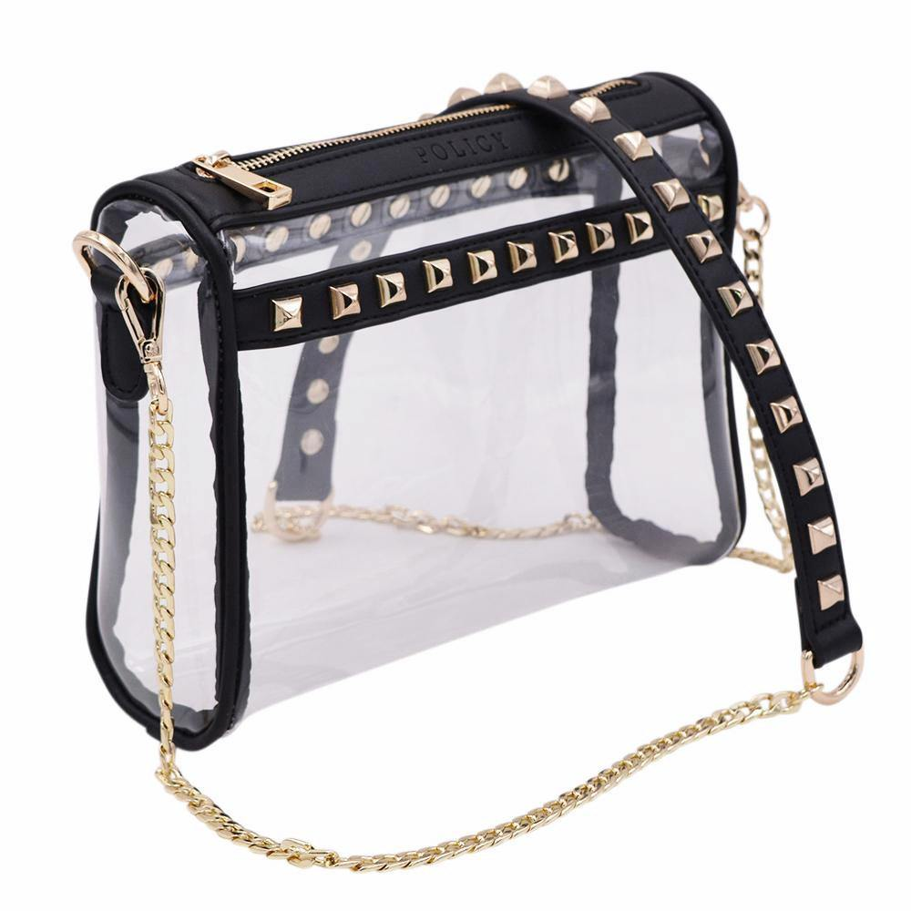Sample Sale | The Rockstar | Black+Gold - POLICY Handbags
