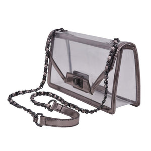 The Mama Cher - Platinum Gunmetal - POLICY Handbags Policy Bag