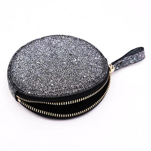 The Roundie Roo- Galaxy Glitter - POLICY Handbags Policy Bag