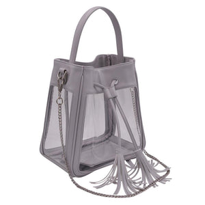The Bare Bucket- Elephant Gray | POLICY Handbags | POLICY Handbags
