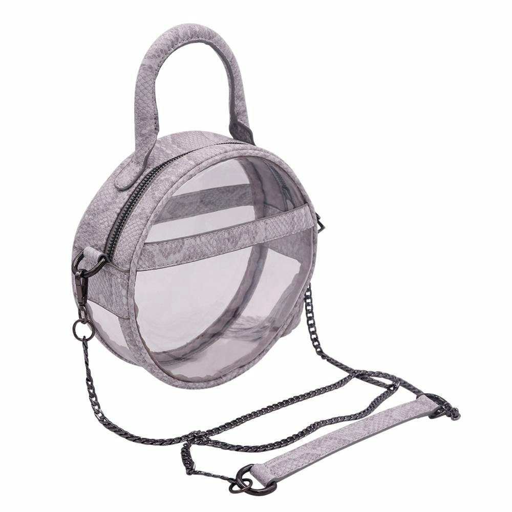 The Roundie Halo- Gravel Snake - POLICY Handbags Policy Bag