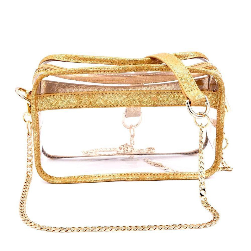 The Bare Box - Golden Snake - POLICY Handbags Policy Bag