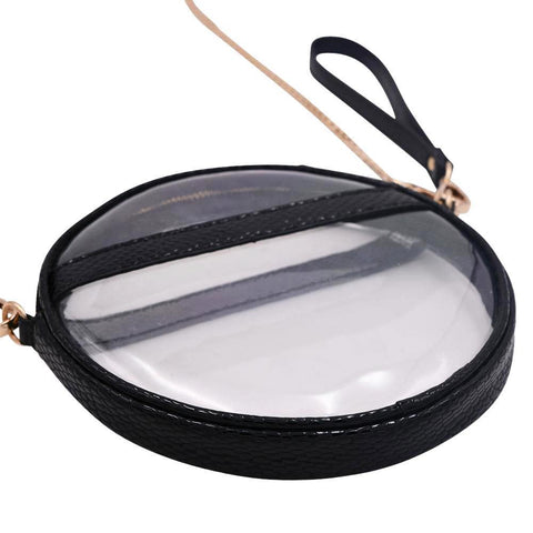 The Mini Roundie- Black Scales - POLICY Handbags Policy Bag