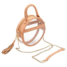 The Roundie Halo- Blonde Scales - POLICY Handbags Policy Bag