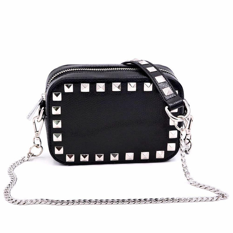 The Stunner- Black Stud | POLICY Handbags | POLICY Handbags