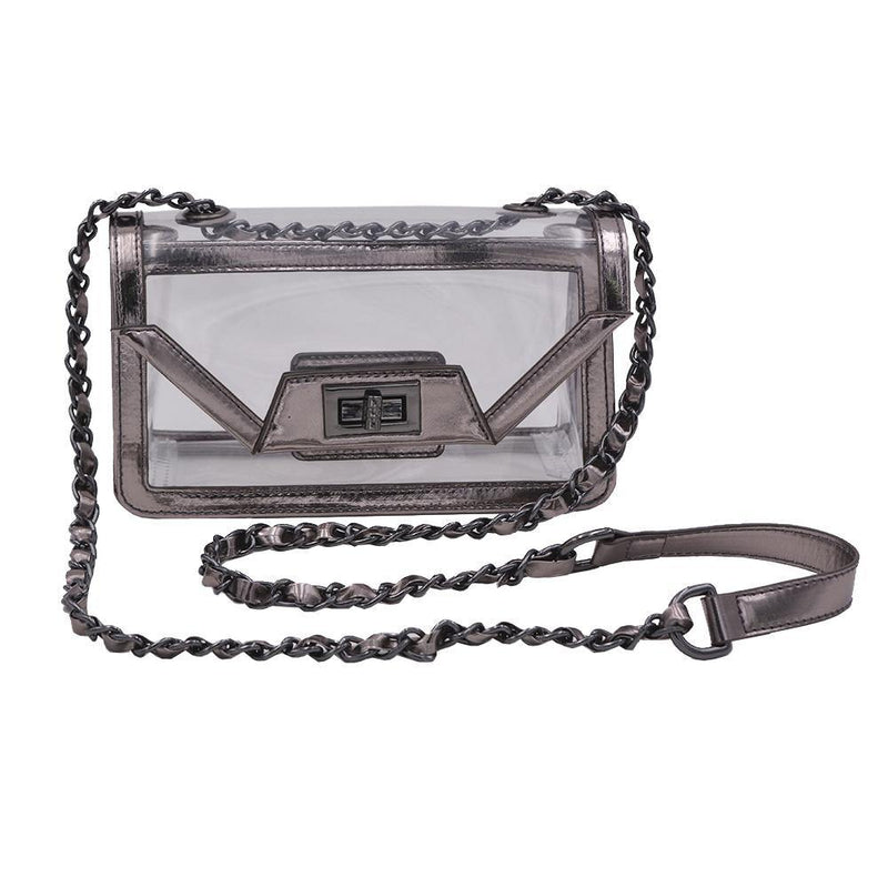 The Mini Cher - Platinum Gunmetal | POLICY Handbags | POLICY Handbags