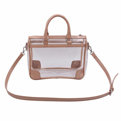 The Collette- Patent Nude - POLICY Handbags Policy Bag