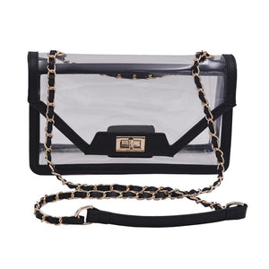 The Mama Cher - Onyx & Gold - POLICY Handbags Policy Bag
