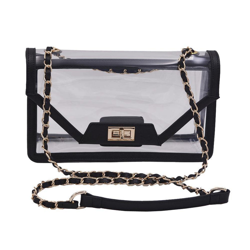 The Mama Cher - Onyx & Gold - Policy Handbags