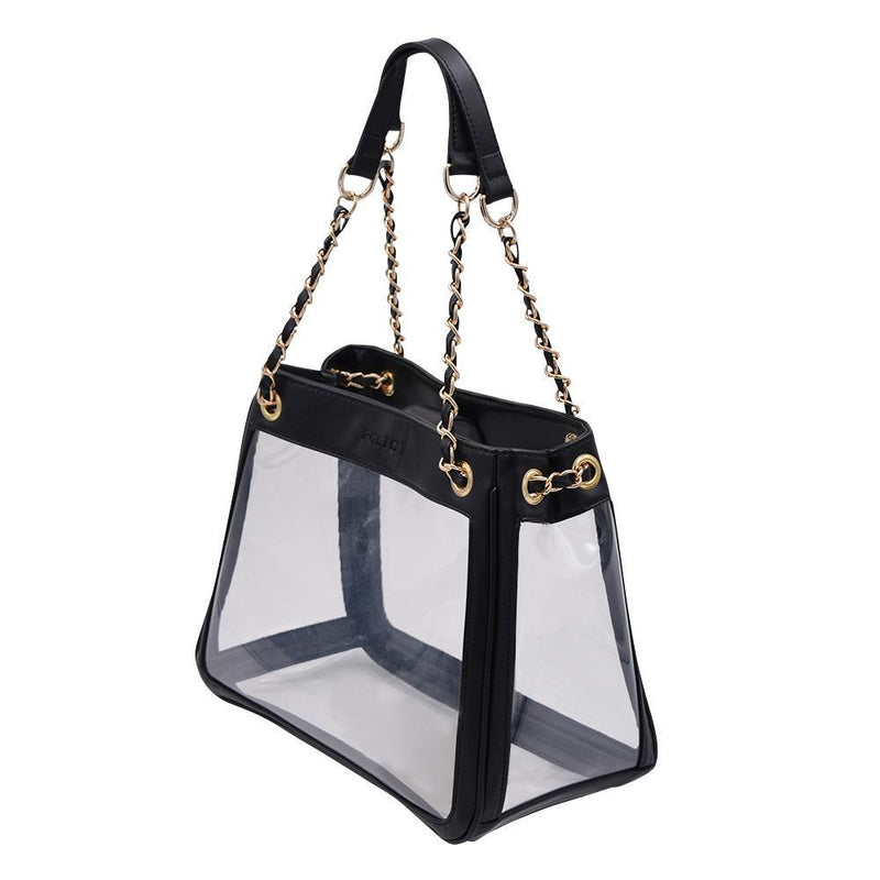 The Bare Boss- Classic Black - Policy Handbags