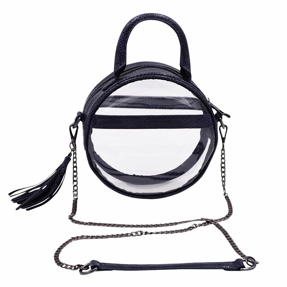 The Roundie Halo- Night Ocean | POLICY Handbags | POLICY Handbags