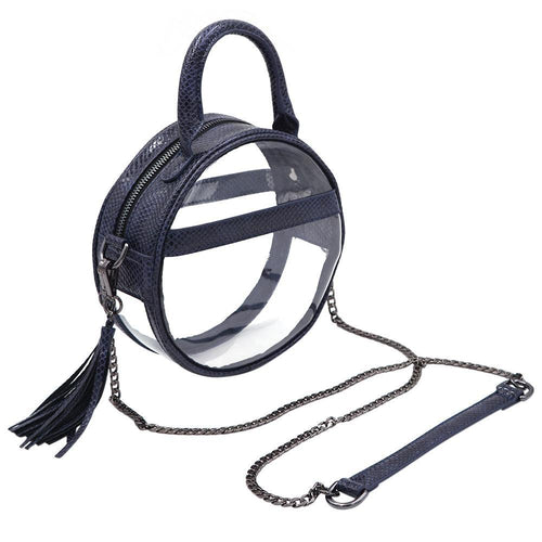 The Roundie Halo- Night Ocean - POLICY Handbags Policy Bag