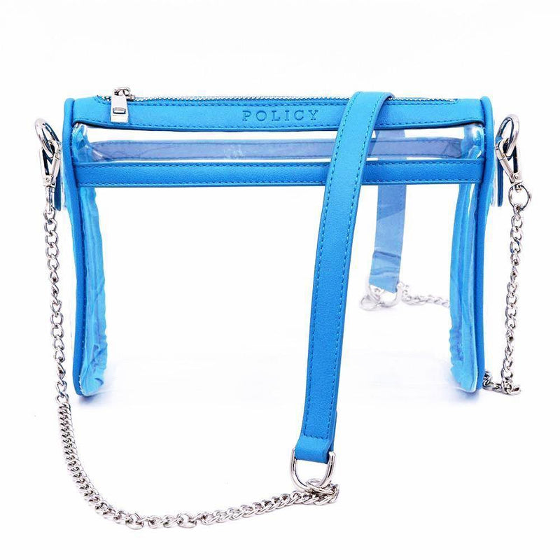 The Original Be Clear -Panther Blue | POLICY Handbags | POLICY Handbags
