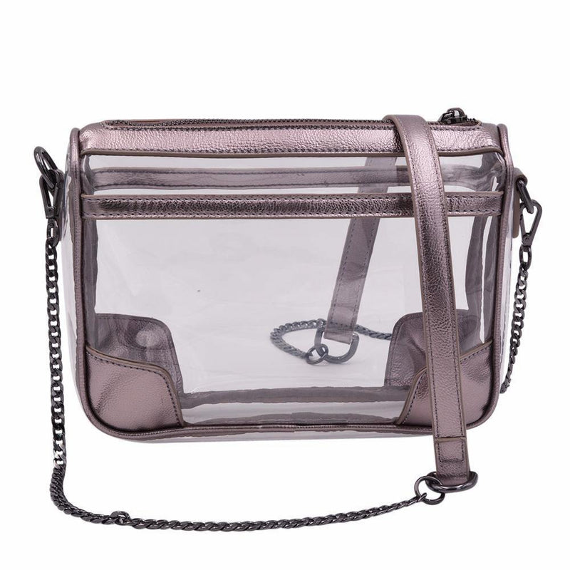 The Drake - Platinum Pewter - POLICY Handbags Policy Bag