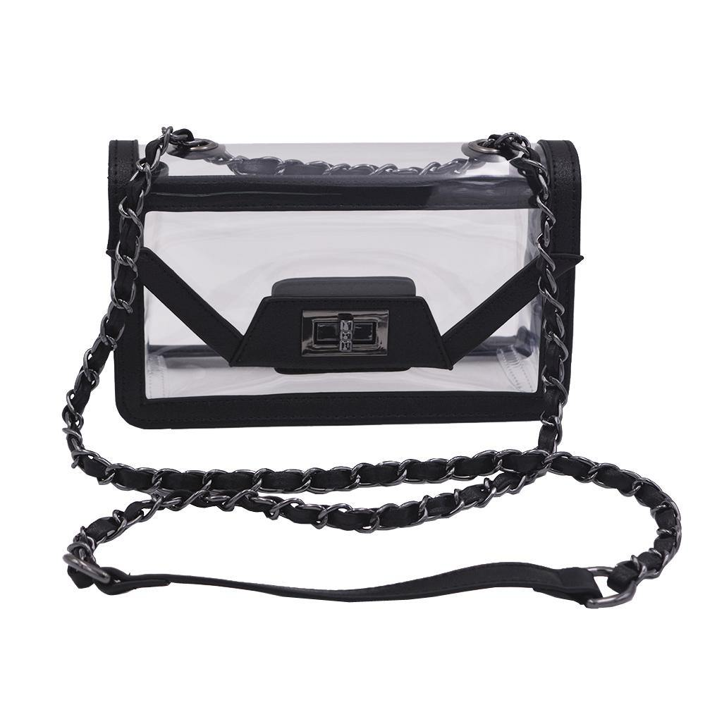 The Mini Cher - Onyx & Gunmetal - POLICY Handbags Policy Bag
