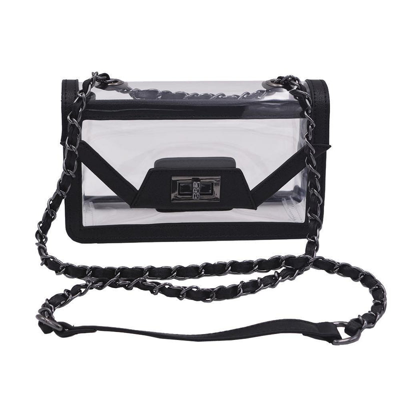 The Mini Cher - Onyx & Gunmetal - Policy Handbags