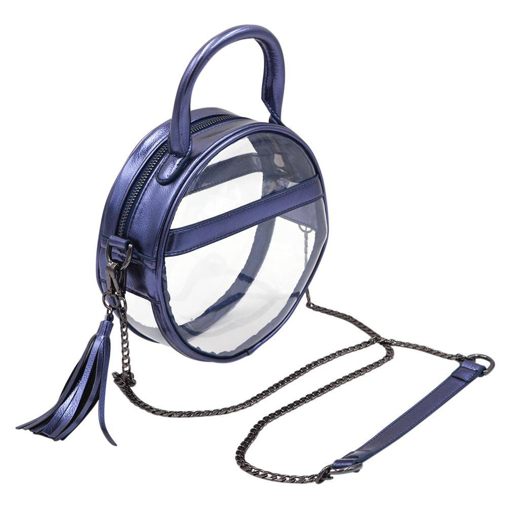 The Roundie Halo- Sapphire | POLICY Handbags | POLICY Handbags