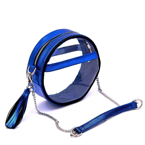 The Roundie- Royalty Blue - POLICY Handbags Policy Bag