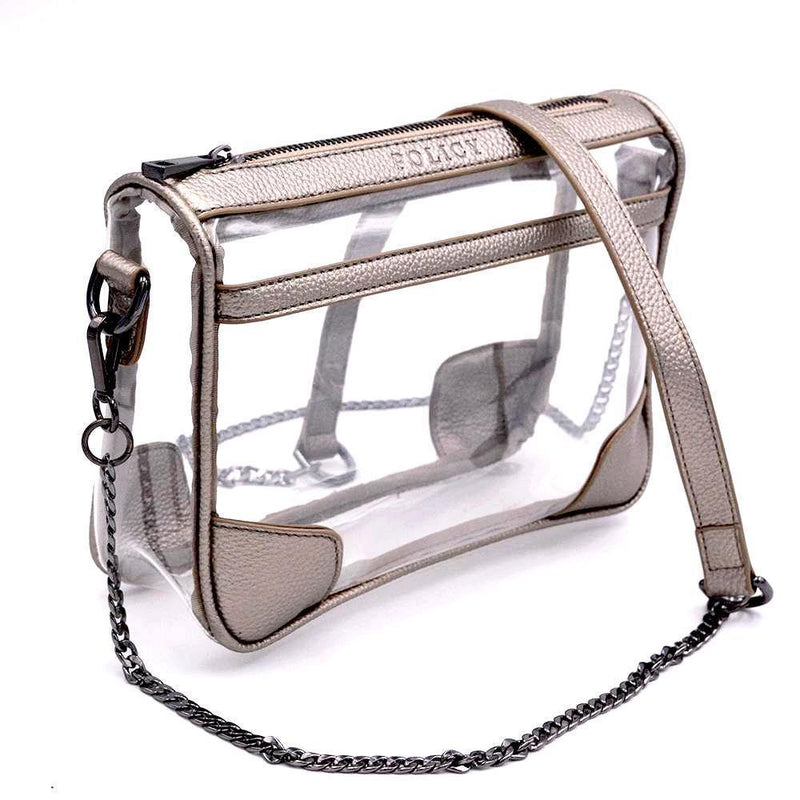 The Drake - Metallic Pewter | POLICY Handbags | POLICY Handbags