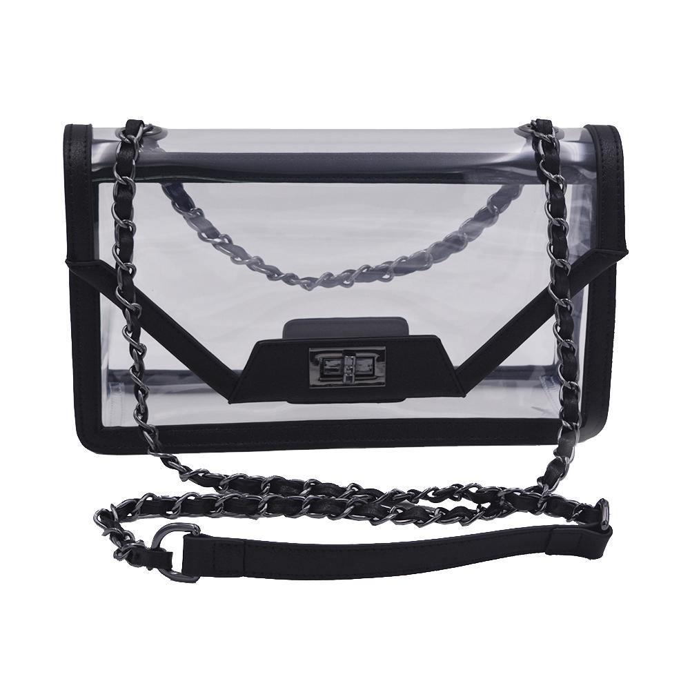The Mama Cher | Onyx & Gunmetal POLICY Handbags