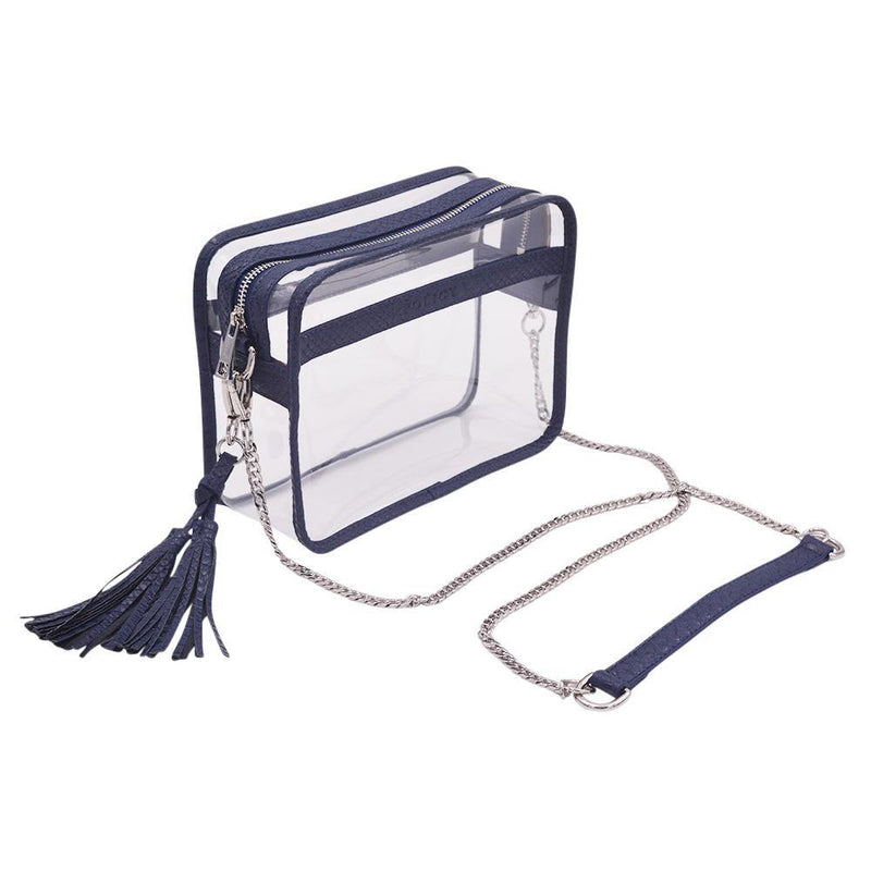 The Basic Bare- Navy Snake | POLICY Handbags | POLICY Handbags
