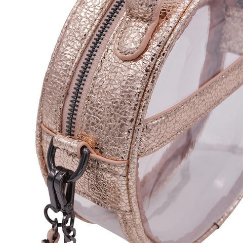 The Roundie Halo- Sweet Prosecco - POLICY Handbags Policy Bag