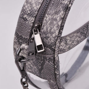The Bare Roundie- Anaconda | POLICY Handbags | POLICY Handbags