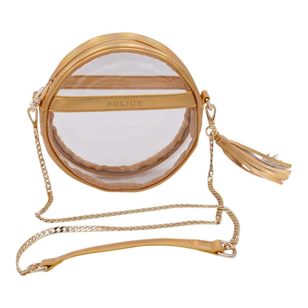 The Bare Roundie- Gleaming Gold | POLICY Handbags | POLICY Handbags