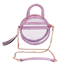 The Roundie Halo- Metallic Amethyst - POLICY Handbags Policy Bag