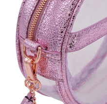The Bare Roundie- Metallic Amethyst - POLICY Handbags Policy Bag