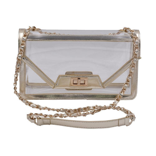 The Mama Cher -Trophy Gold - POLICY Handbags Policy Bag
