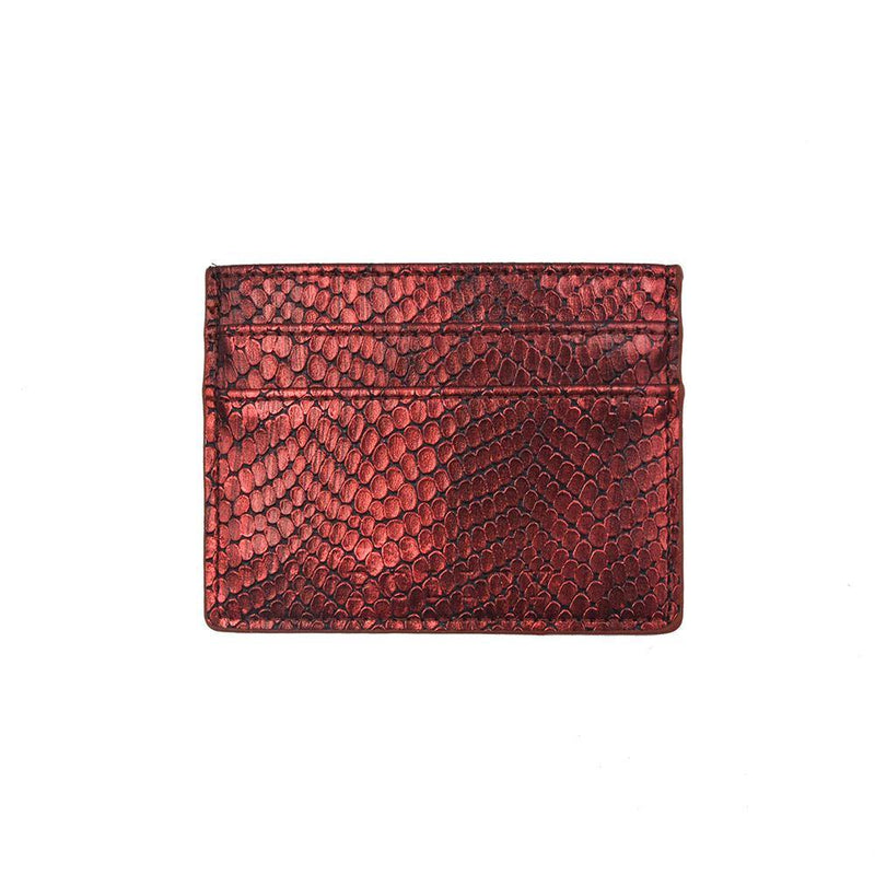 The iCard Holder- Burnt Ruby - Policy Handbags