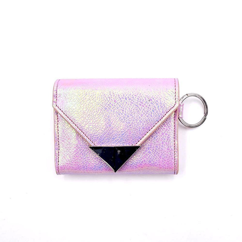 The Future Wallet Keychain- Cotton Candy - POLICY Handbags Policy Bag