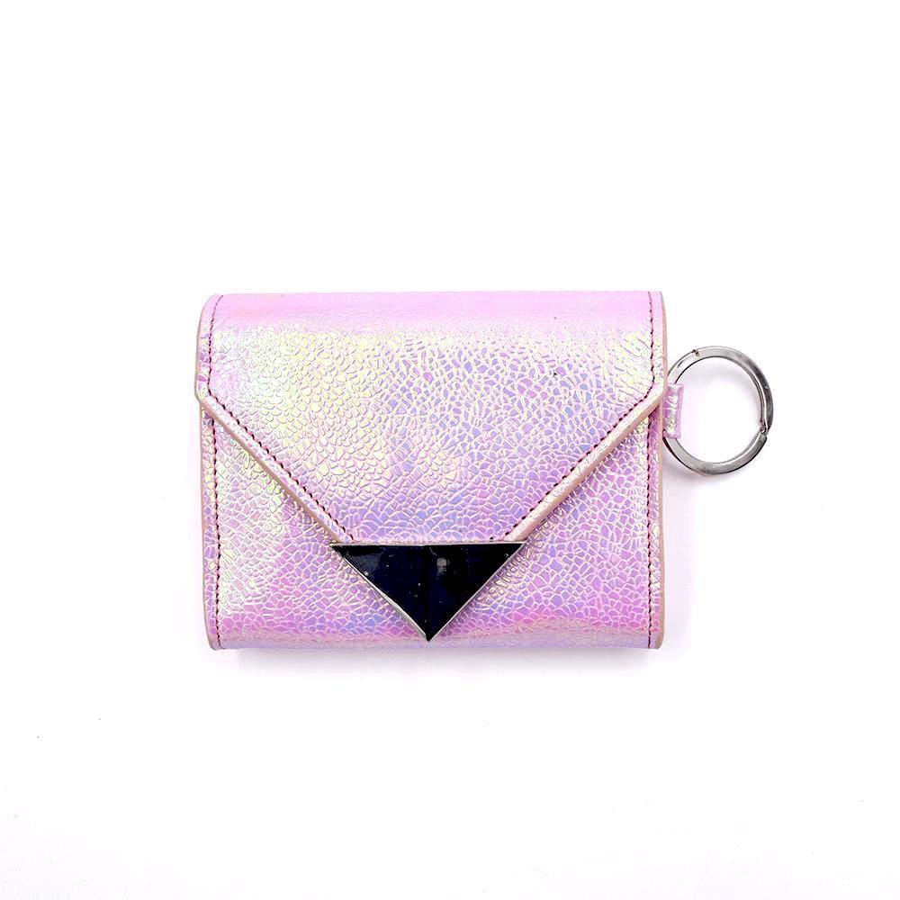 Sample Sale | The Future Wallet Keychain- Cotton Candy - POLICY Handbags