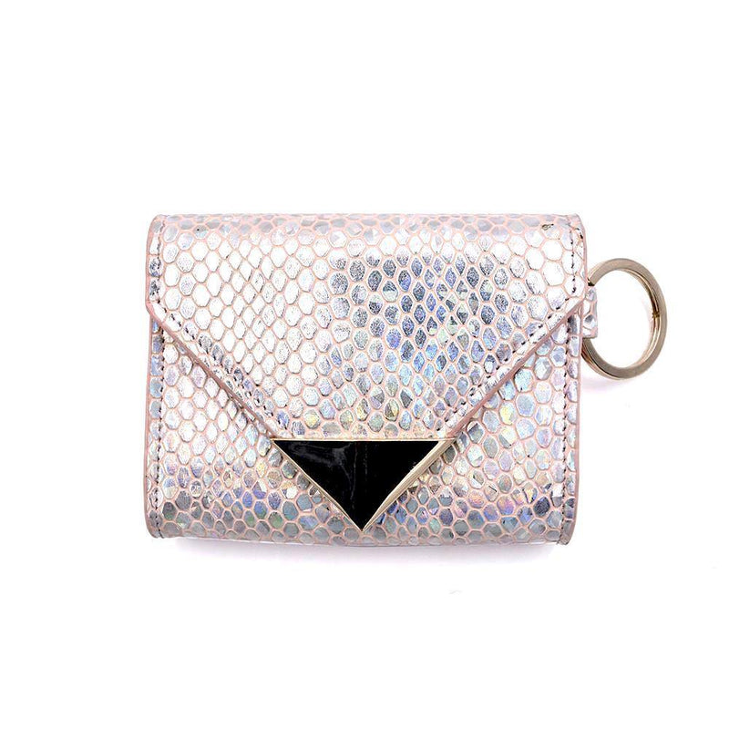 The Future Wallet Keychain- Blushing Mermaid | POLICY Handbags | POLICY Handbags