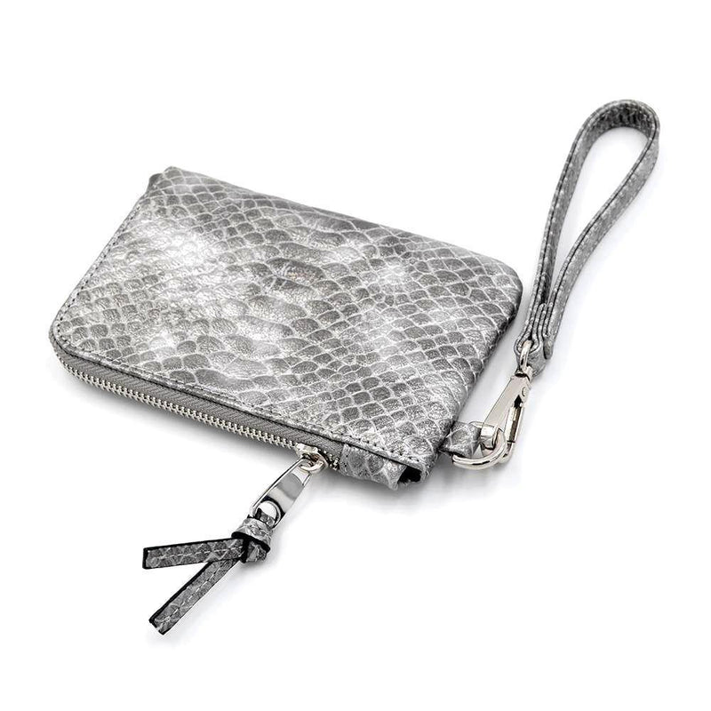 The Roo Pouch- Grey Scales | POLICY Handbags | POLICY Handbags