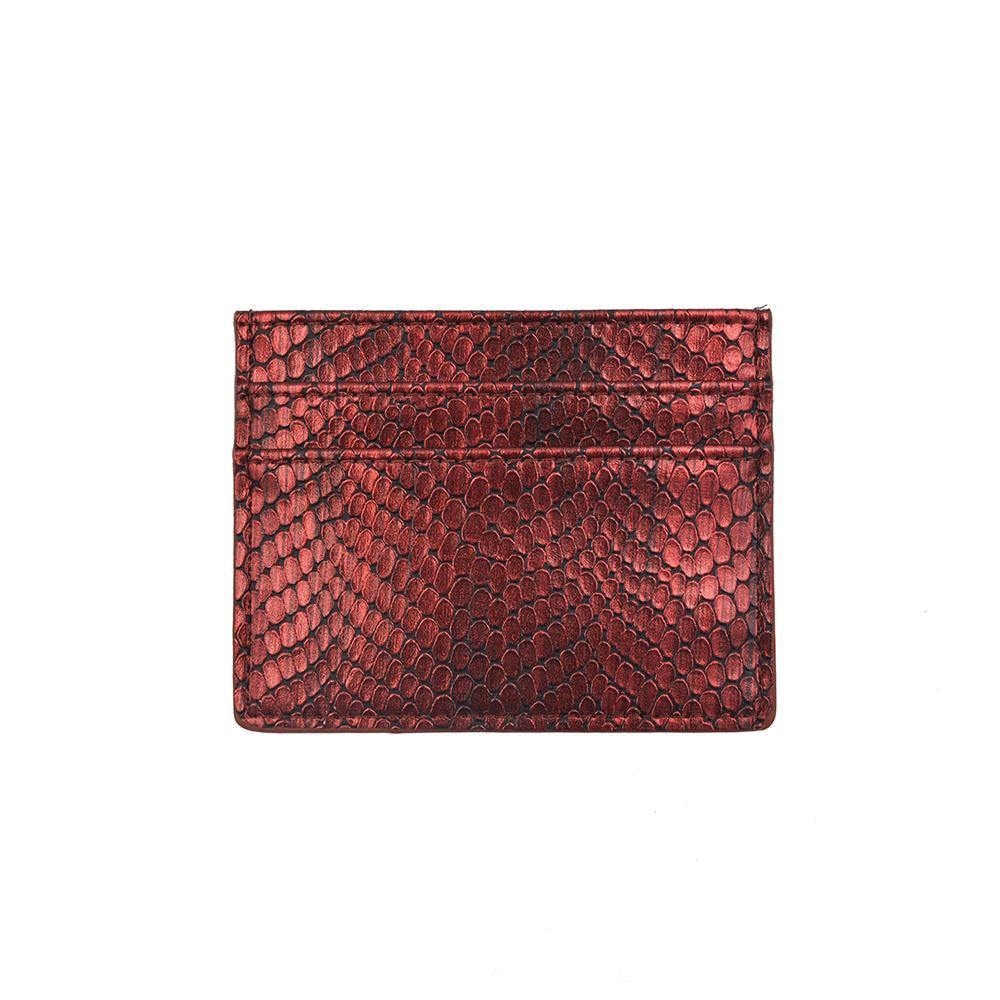 The iCard Holder- Burnt Ruby | POLICY Handbags | POLICY Handbags