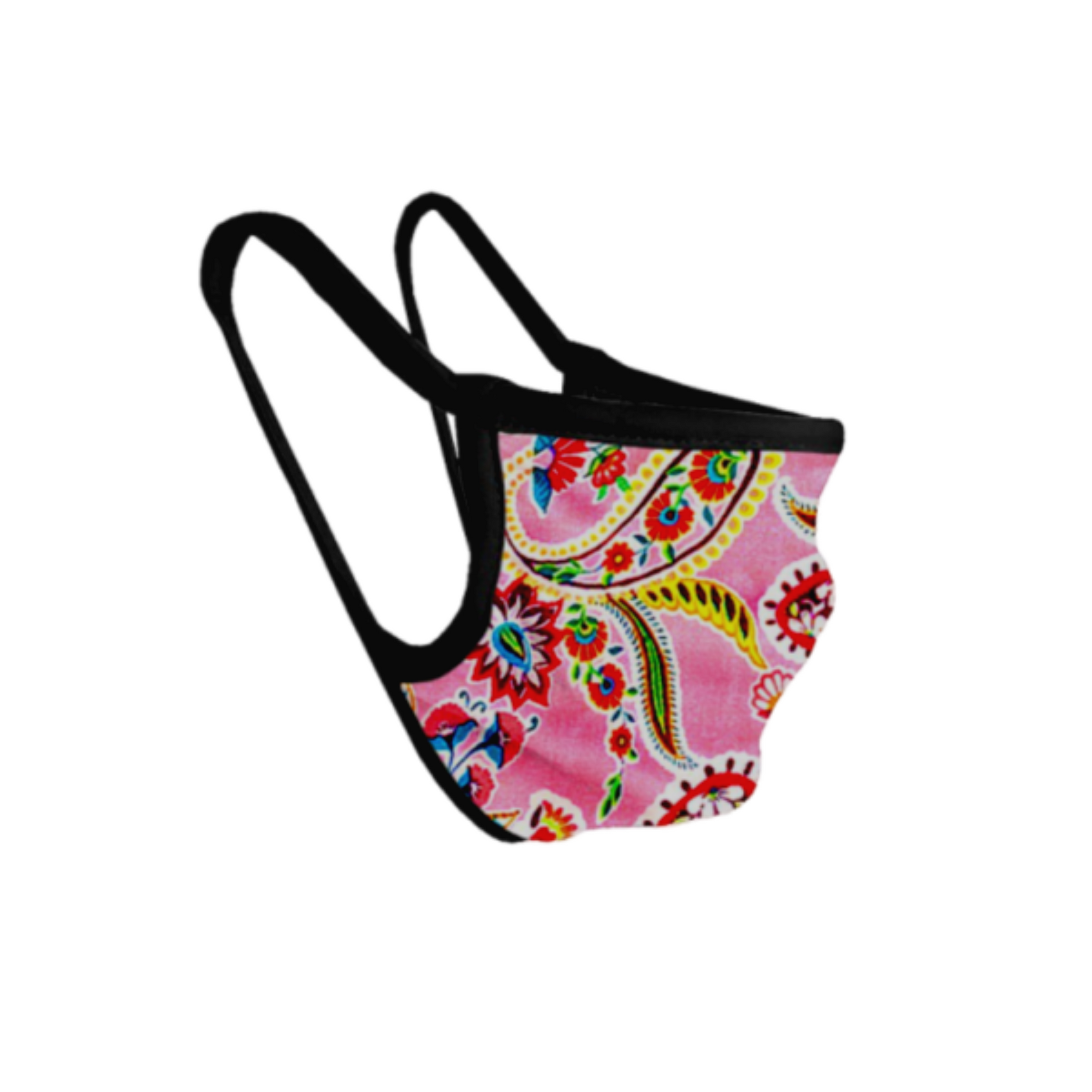 Patio Paisley Mask POLICY Handbags