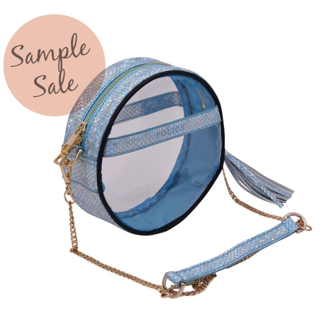 Sample Sale | The Roundie- Caribbean Mermaid | POLICY Handbags