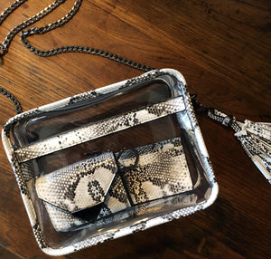 The Future Wallet Keychain- Kingsnake - POLICY Handbags Policy Bag